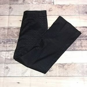 Black Tribal stretch-extensible pants in size 10.